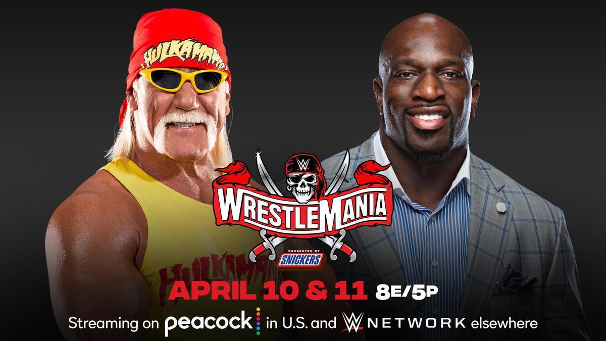 Hulk Hogan and Titus O'Neil to host WrestleMania   WWE
