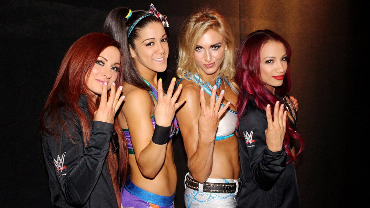 Image result for four horsewomen of wwe