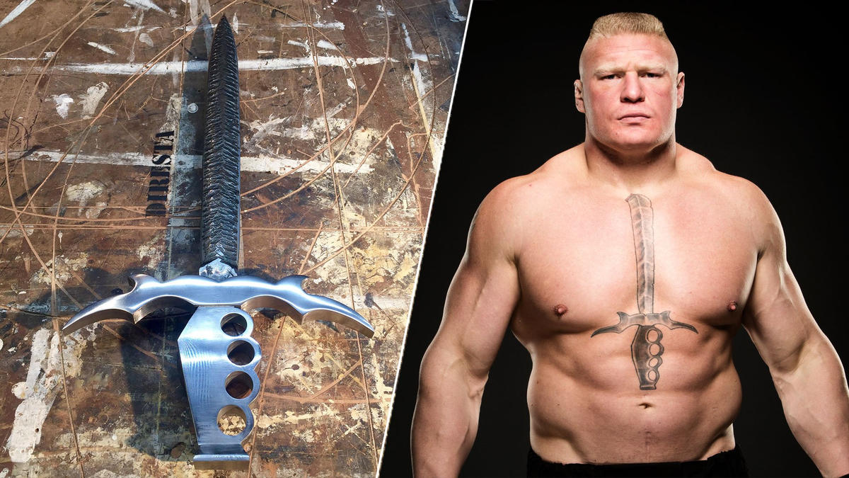 Brock Lesnars Tattoo Comes To Life Wwe