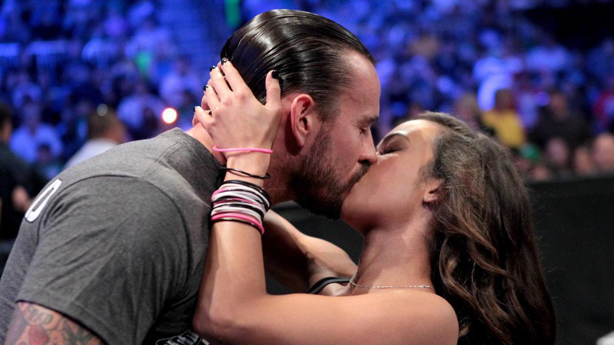 Aj lee sexy kiss