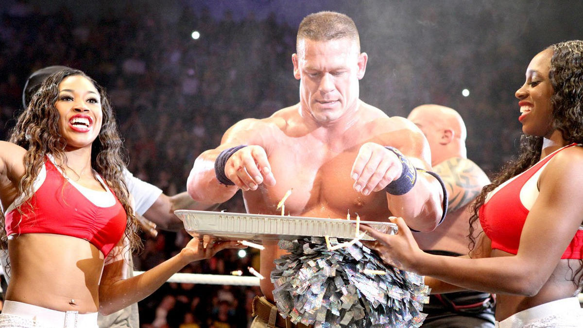 John Cena celebrates his birthday in the ring photos – John Cena Birthday Cards