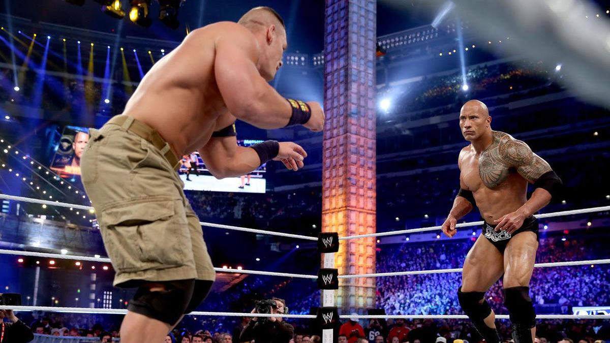 The Rock vs. John Cena: WWE Championship Match: photos | WWE