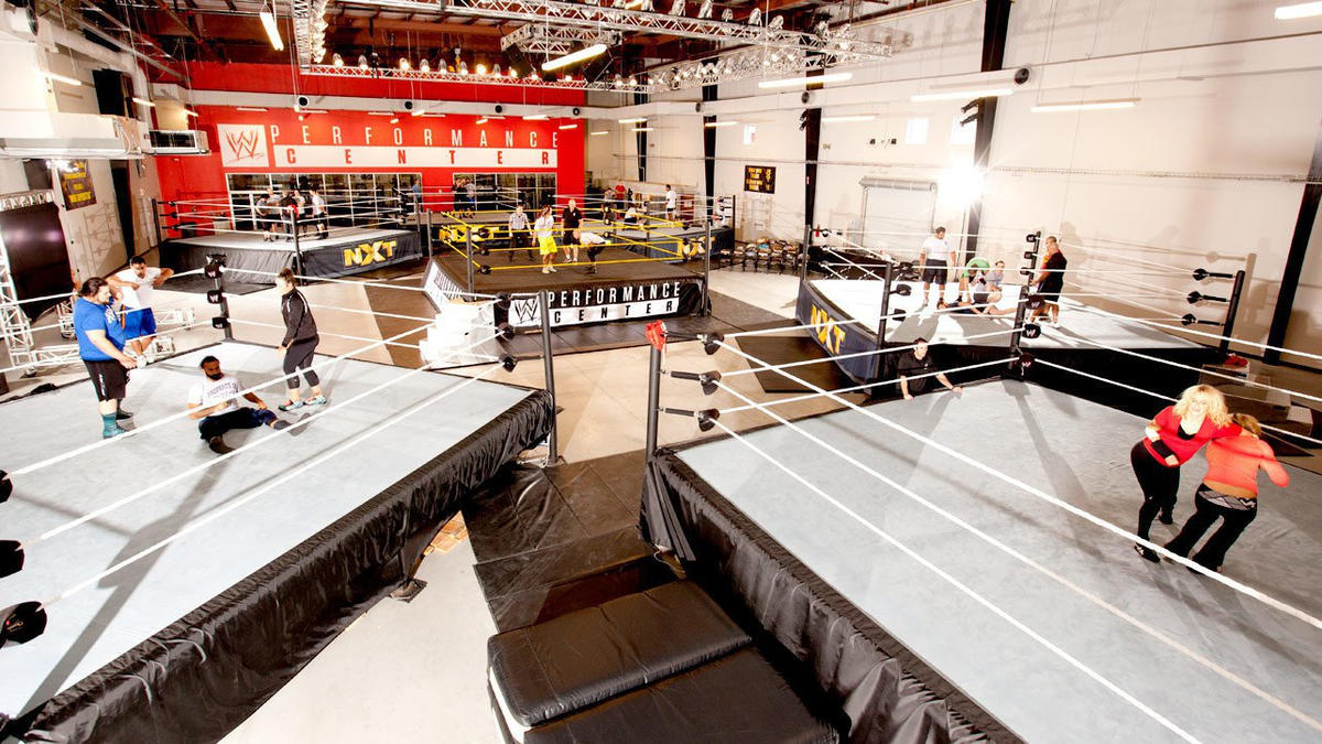 Tour the WWE Performance Center: photos, presented by Rogue