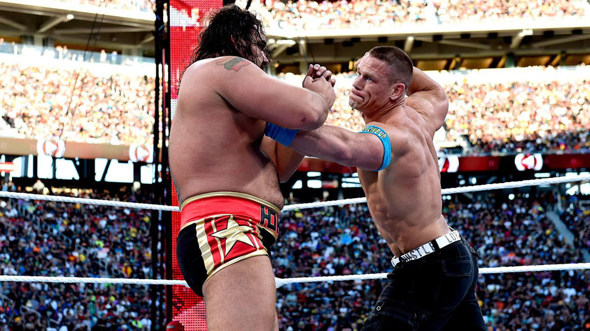 Rusev vs. John Cena - United States Title Match: photos | WWE