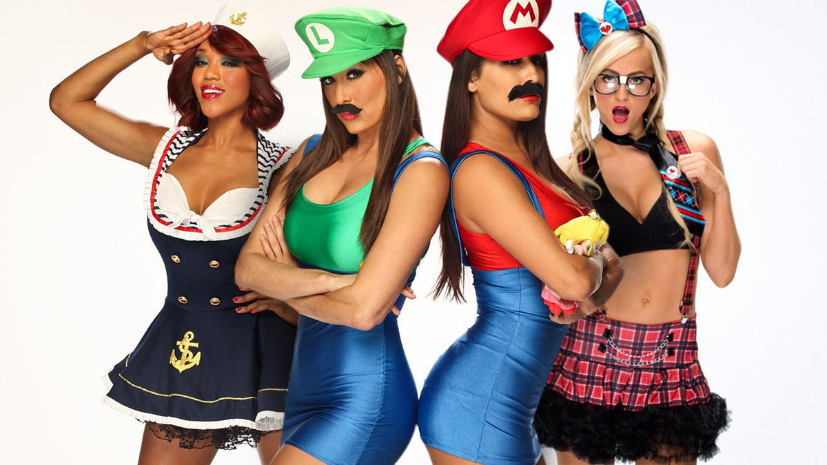 sc 1 st  WWE.com & 50 best Diva Halloween costumes ever: photos | WWE