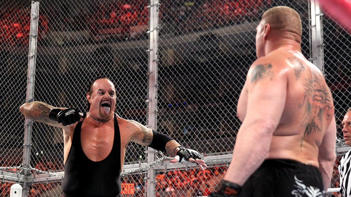 The Undertaker vs. Brock Lesnar - Hell in a Cell Match: photos   WWE