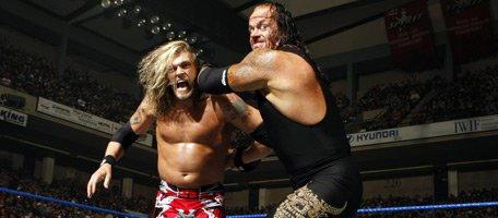 Resultado de imagem para edge undertaker backlash 2008