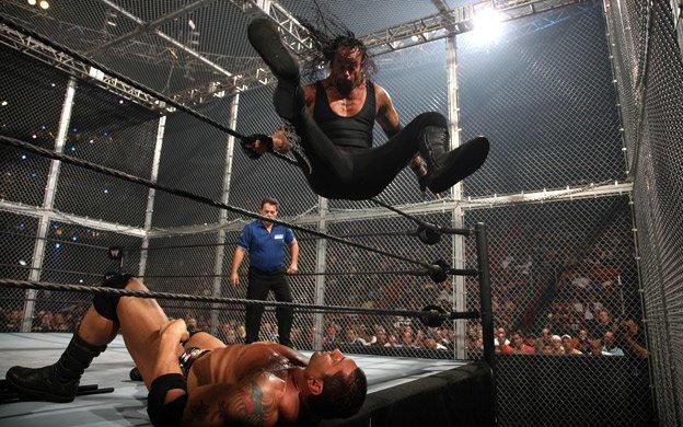 Resultado de imagem para The Undertaker vs. Batista - Survivor Series 2007