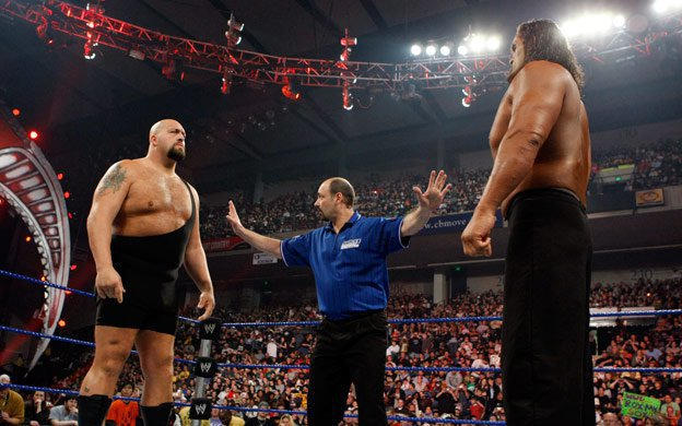 Image result for WWE Backlash 2008 The Big Show vs The Great Khali wwe.com