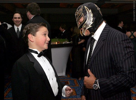 Rey Mysterio At The Toysrus Childrens Fund Charity Event In New