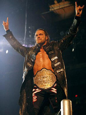 World Heavyweight Champion Edge Makes His Entrance In Chicago Jeff Hardy