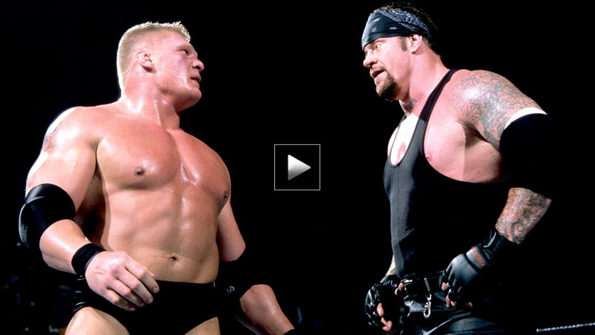 Every Brock Lesnar Vs The Undertaker Match Ever Wwe