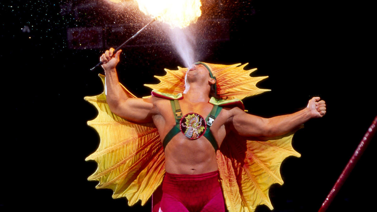 """Ricky """"The Dragon"""" Steamboat."""