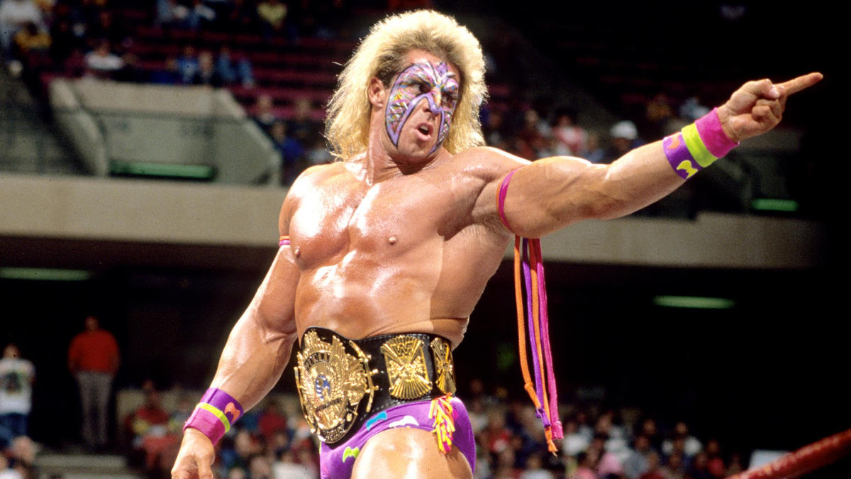 Ultimate Warrior like you've never seen him