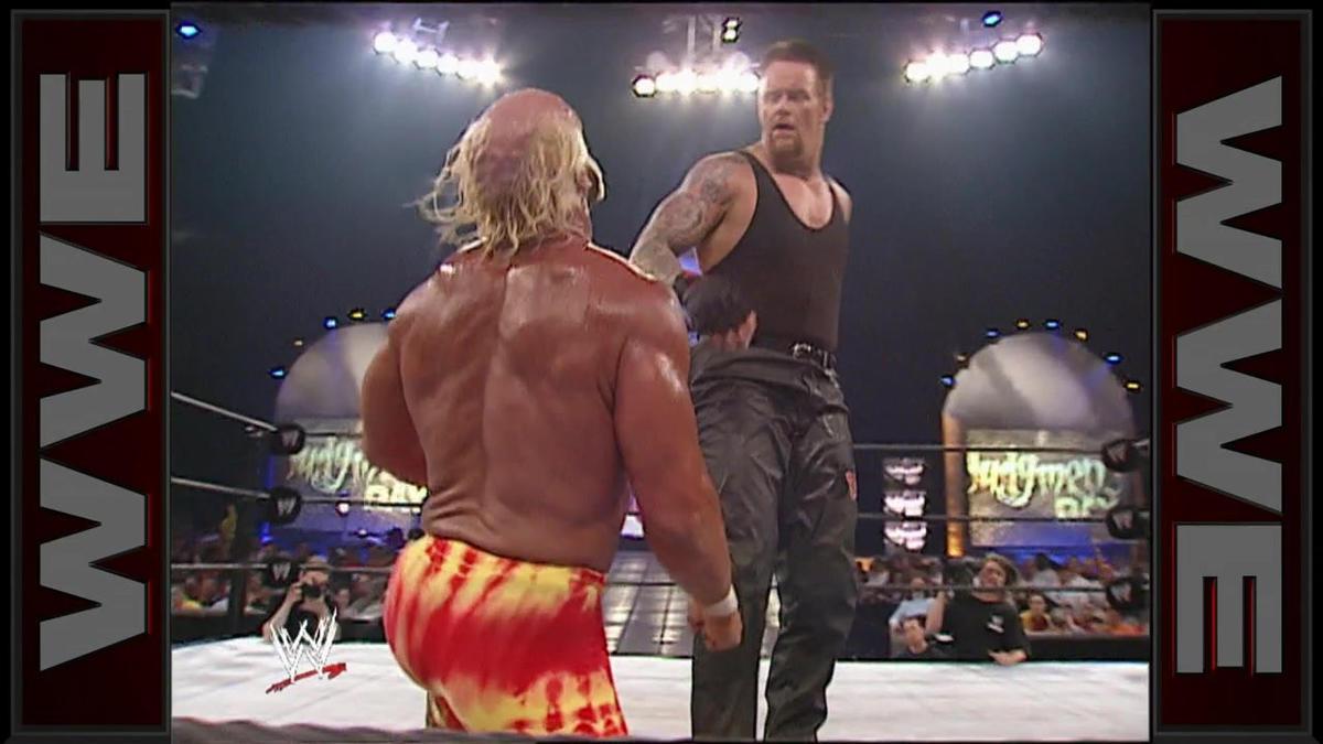 hulk hogan vs the undertaker undisputed wwe