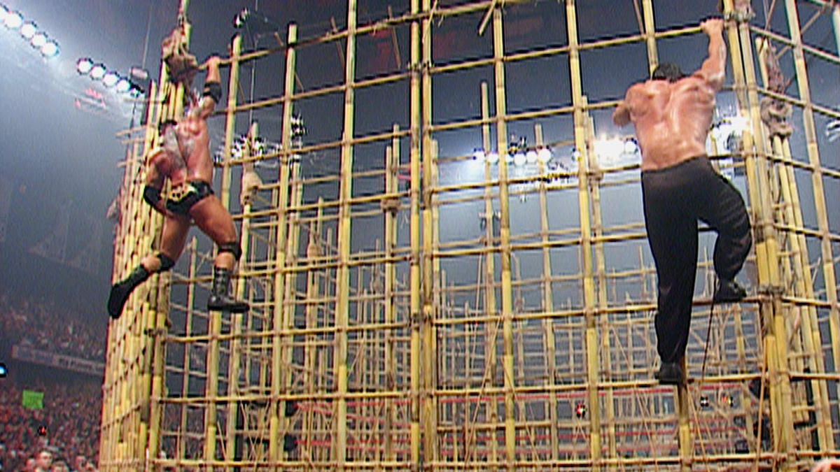 Batista vs. The Great Khali - Punjabi Prison Match: No ...
