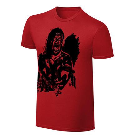 Shinsuke Nakamura Rob Schamberger Red Art Print T Shirt