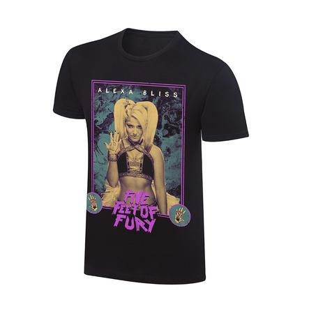 "Alexa Bliss ""Five Feet of Fury"" T-Shirt"