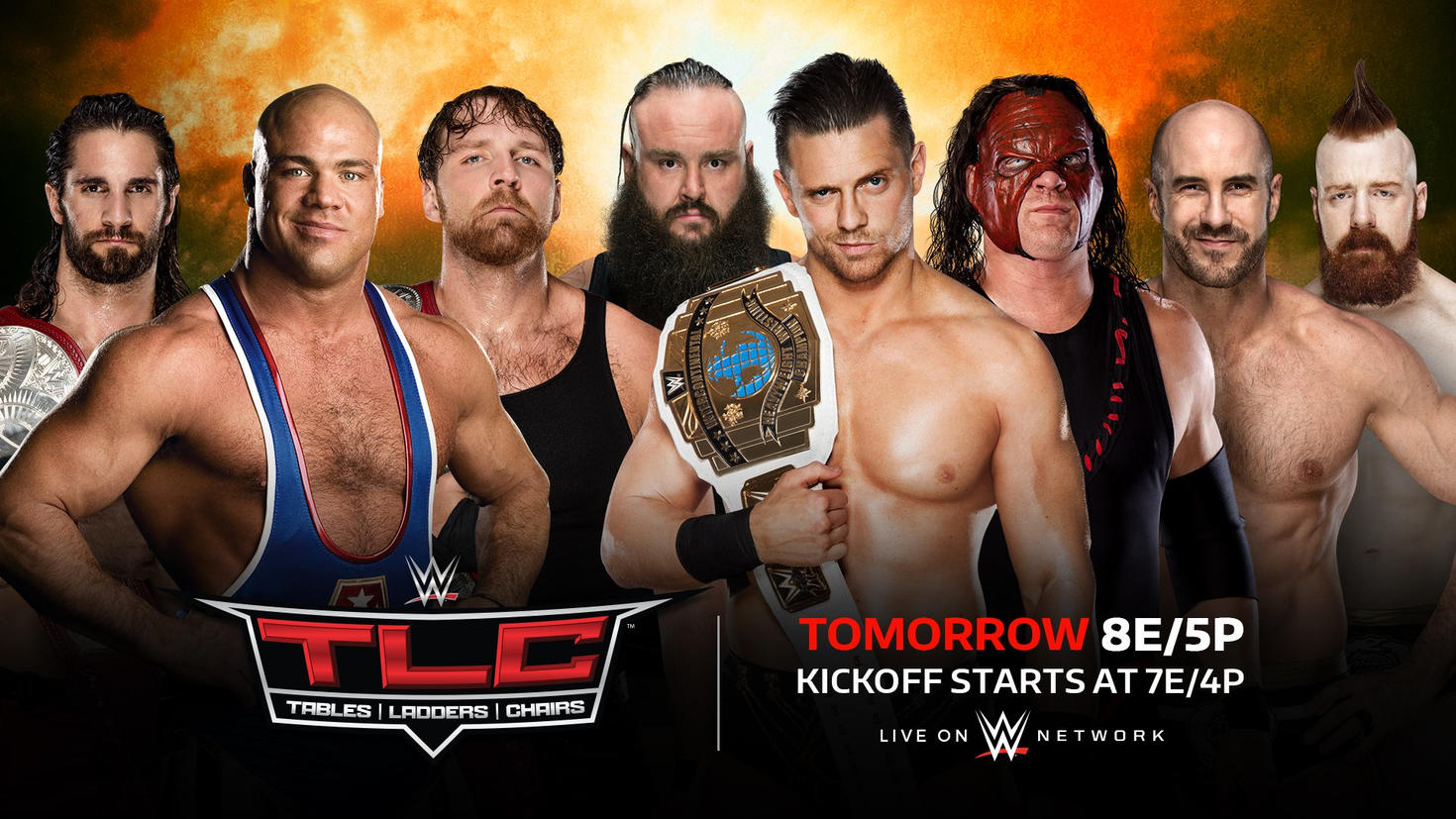 Tables, Ladders, & Chairs 2017 Results — WWE TLC