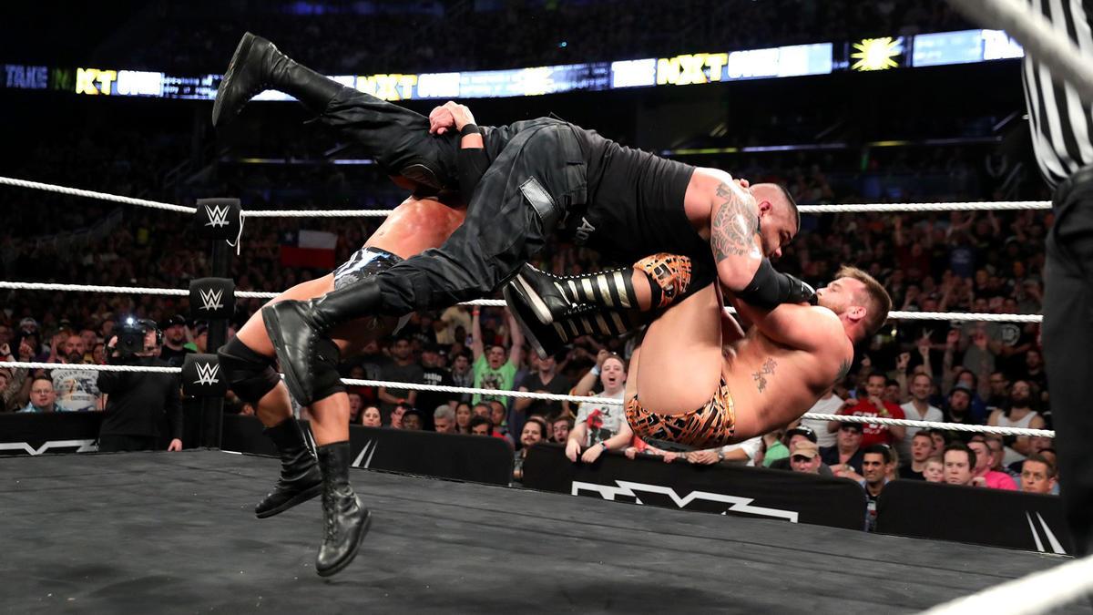 Resultats WWE NXT 1 avril 2017