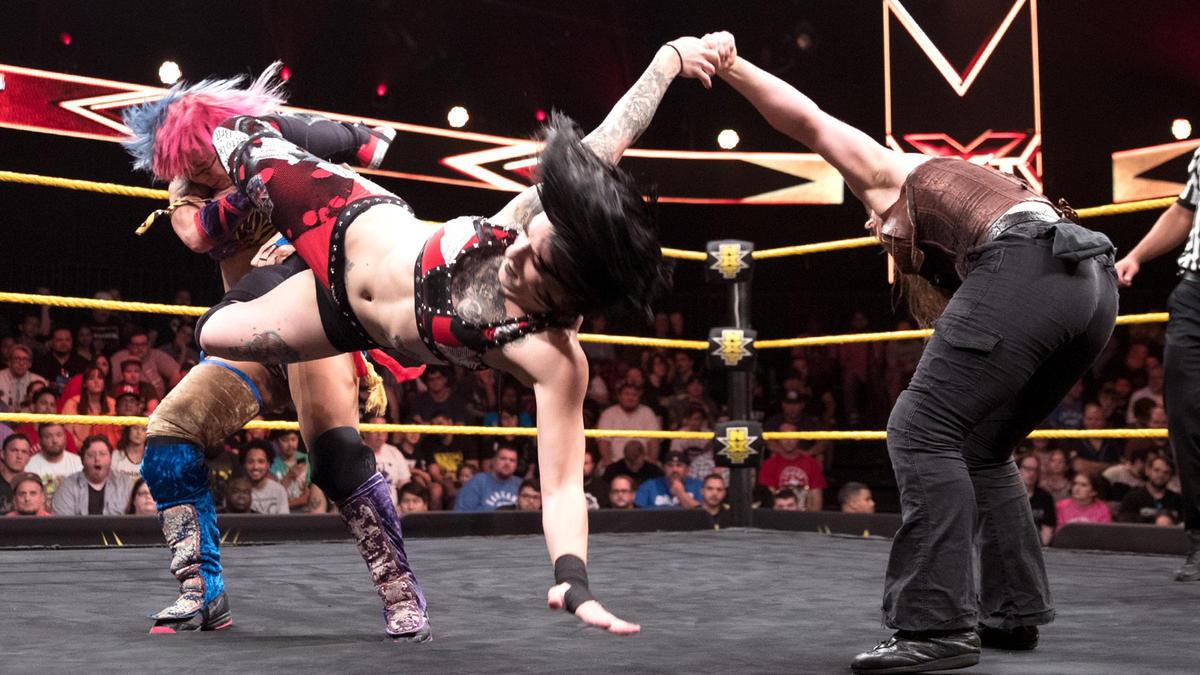 Resultats NXT 14 juin 2017