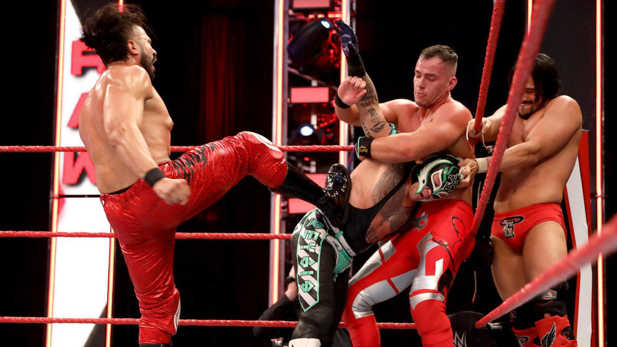 WWE Raw Results (27/04/20): Contract Signing, Money In The Bank Hypes 1