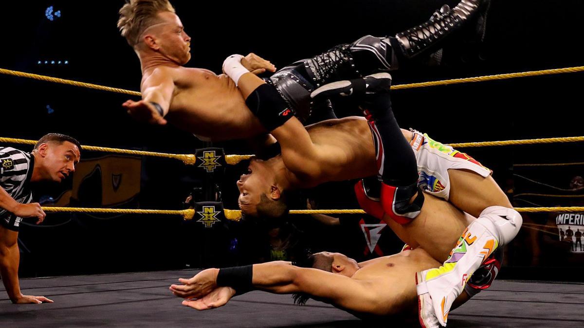 Drake Maverick é o primeiro finalista do torneio pelo NXT Cruiserweight Championship