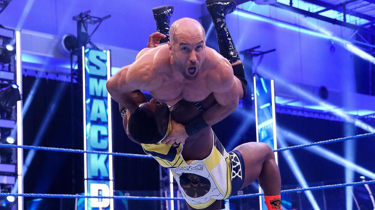 WWE SmackDown tem aumento na sua audiência