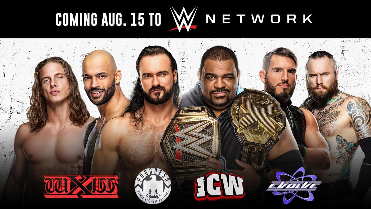 PROGRESS, EVOLVE, wXw e ICW chegam a WWE Network