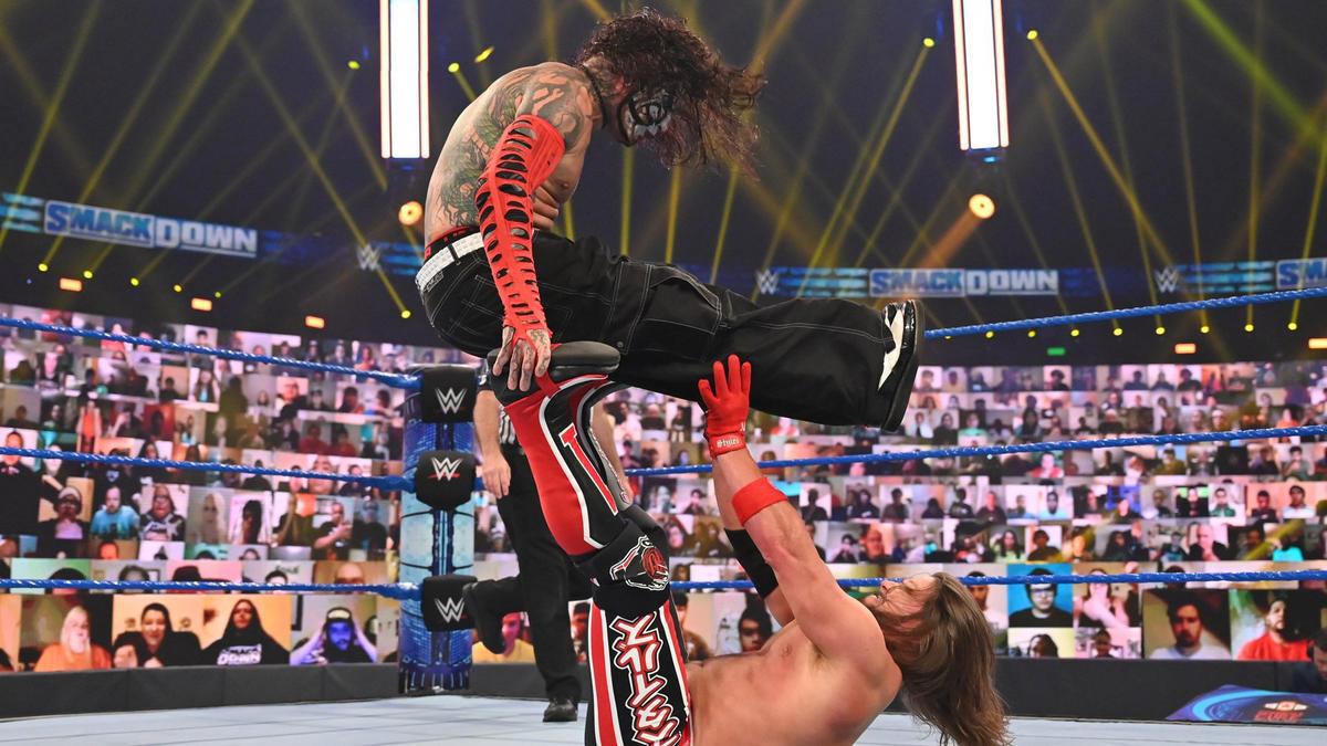 WWE Smackdown Results (11/09/20): AJ Styles-Jeff Hardy; Bayley's Explanation 1