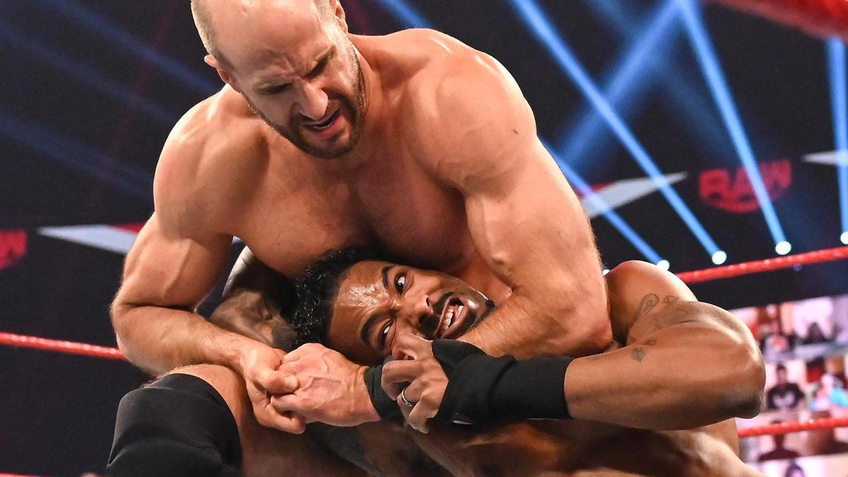 WWE रॉ परिणाम (14/09/20): स्टील केज एंड टाइटल मैच;  चैंपियंस बनाम चैंपियंस 1