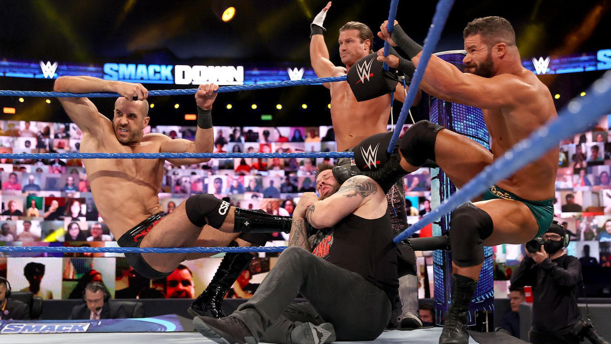 WWE Smackdown Results (23/10/20): Hell In A Cell 2020 Go-Home Show 50