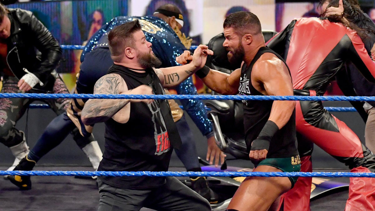 WWE Smackdown Results (23/10/20): Hell In A Cell 2020 Go-Home Show 49