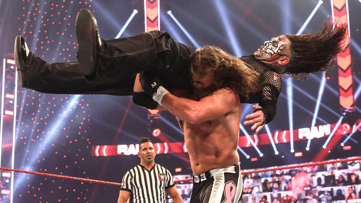 WWE Raw Results (26/10/20): Survivor Series 2020 Announcements; HIAC Fallouts 1