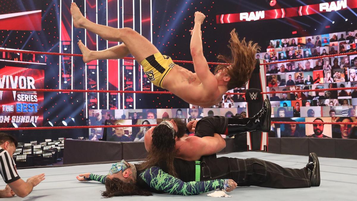 WWE Raw Results (09/11/20): Six Man Tag Team Main Event; Survivor Series Qualifier 1