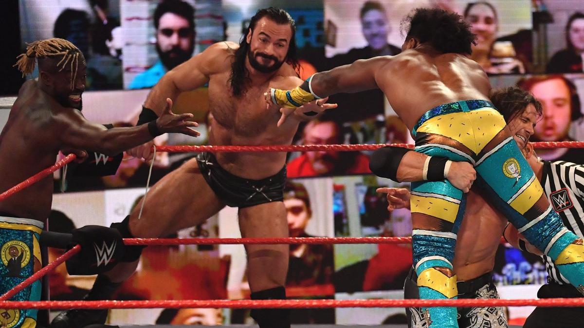 WWE Raw Results (09/11/20): Six Man Tag Team Main Event; Survivor Series Qualifier 4