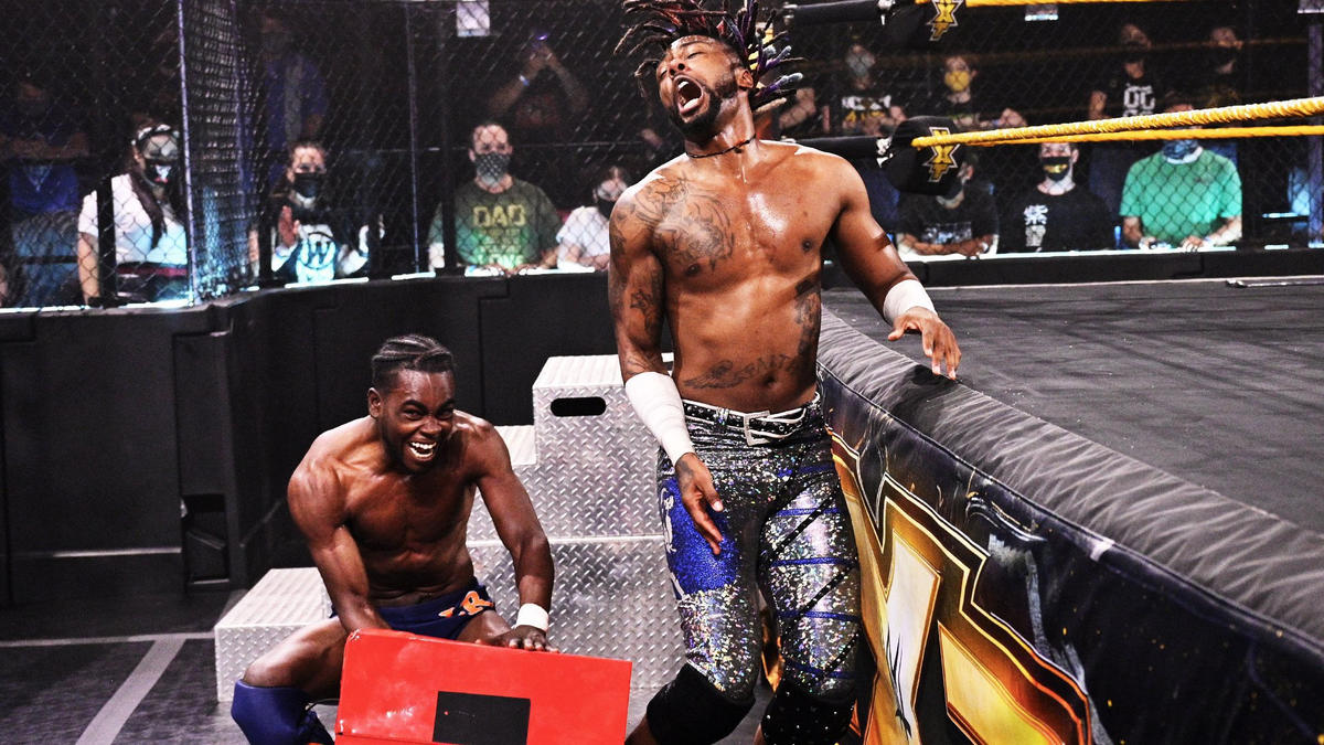WWE NXT Results (04/05/2021): Falls Count Anywhere; New Champions Crowned 1