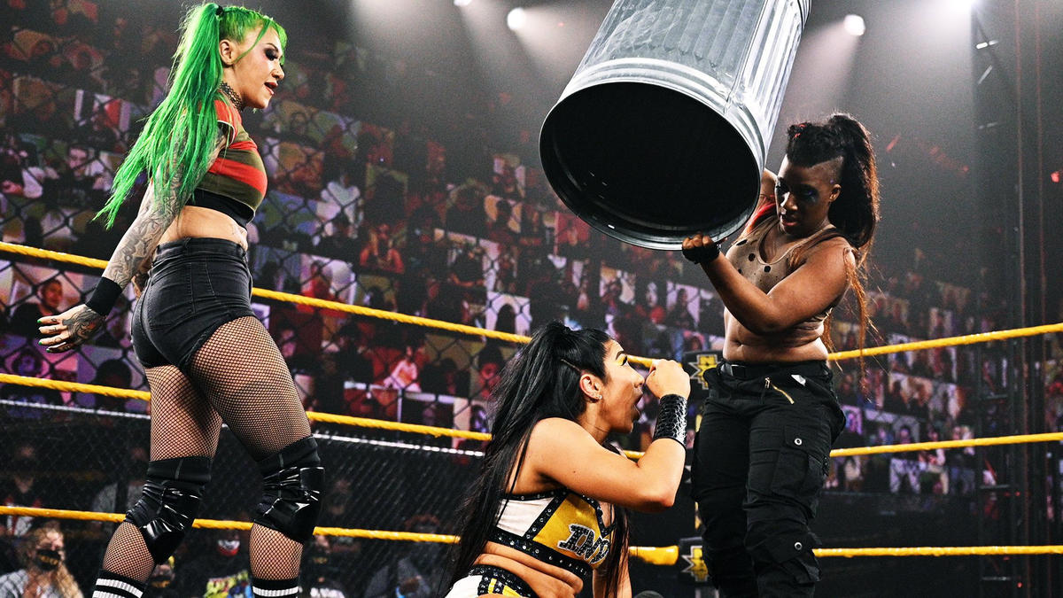 WWE NXT Results (04/05/2021): Falls Count Anywhere; New Champions Crowned 4