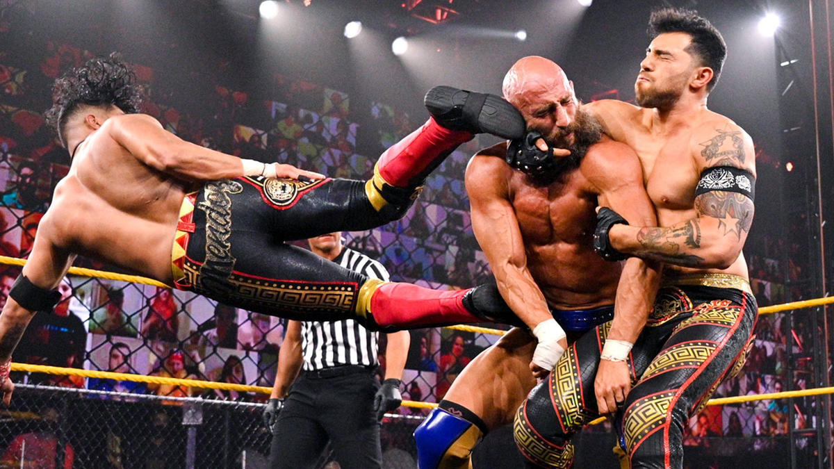 WWE NXT Results (18/05/21): Steel Cage Match; Toni Storm, Ted DiBiase Appears 88