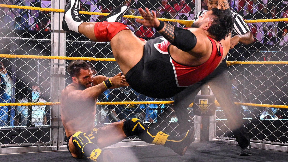 WWE NXT Results (18/05/21): Steel Cage Match; Toni Storm, Ted DiBiase Appears 90