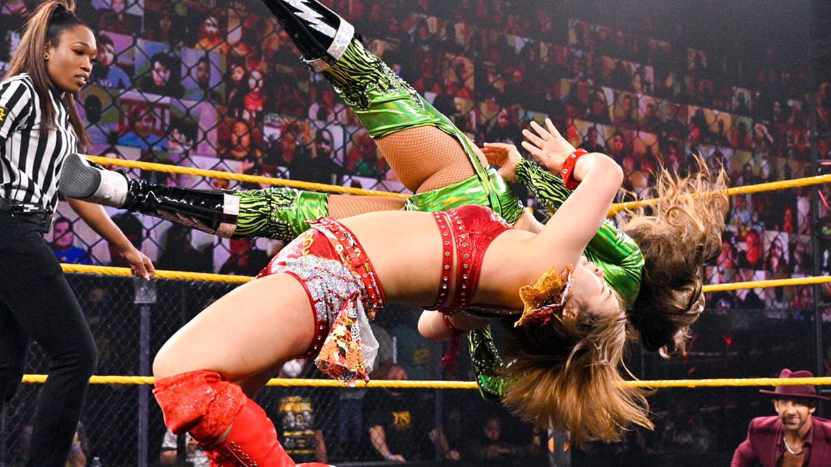 WWE NXT Results (18/05/21): Steel Cage Match; Toni Storm, Ted DiBiase Appears 89