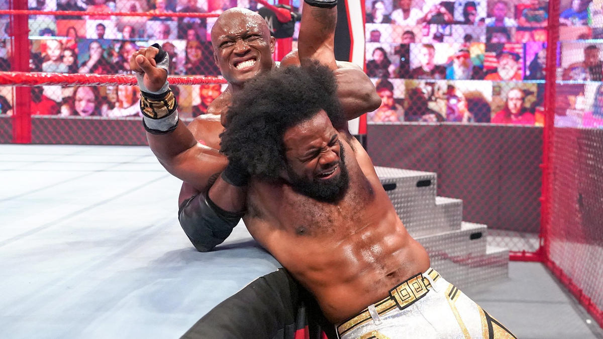 Bobby Lashley Achieved Major Hell In A Cell Record On WWE Raw 20