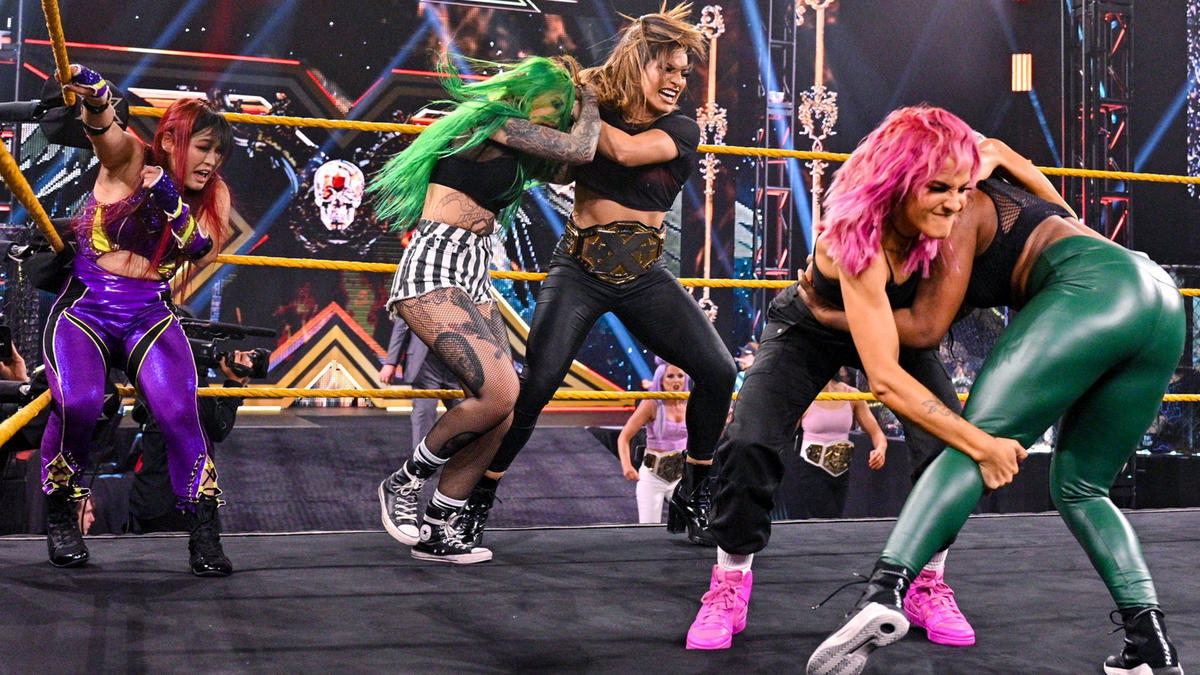 WWE NXT Results (22/06/21): Diamond Mine Debuts; Adam Cole In Action 74