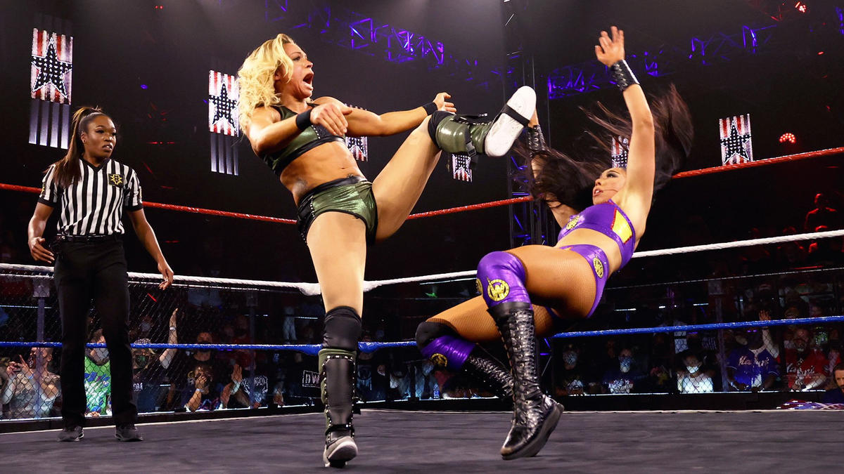 WWE NXT Great American Bash 2021 Results: New Champions Crowned 100
