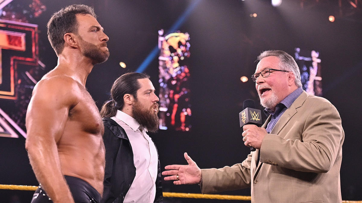 WWE NXT Results (10/08/21): Ilja Dragunov In Action; Cole-O'Reilly Face-Off 60