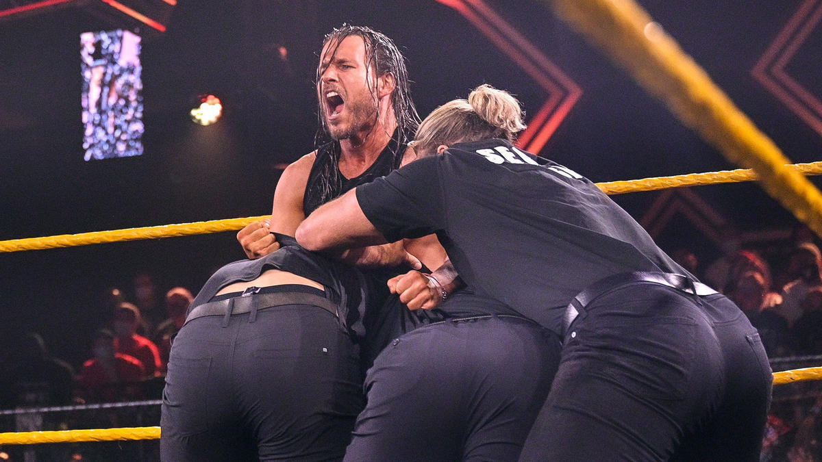 WWE NXT Results (10/08/21): Ilja Dragunov In Action; Cole-O'Reilly Face-Off 61