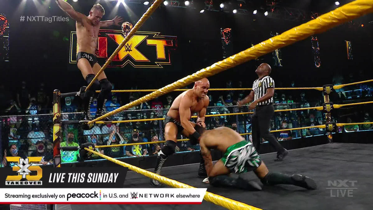 WWE NXT Results (17/07/21): Mixed Tag Team Action; Kross-Joe Face-Off 90