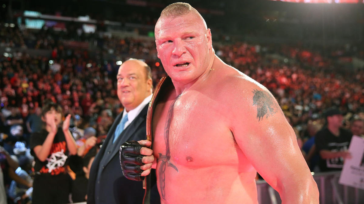 Paul Heyman apologizes in advance for Brock Lesnar ahead of Monday's Raw
