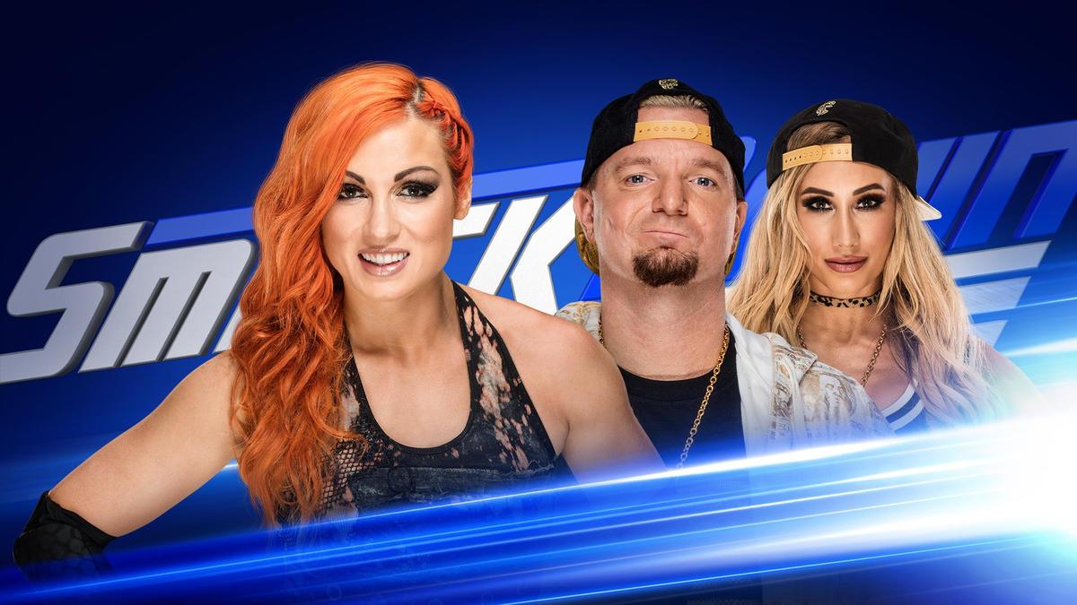 Межполовой матч пройдёт на SmackDown