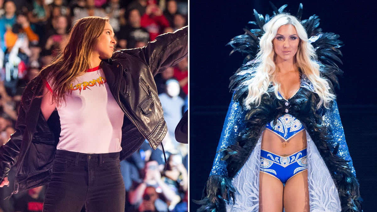 Ronda Rousey VS Charlotte Flair